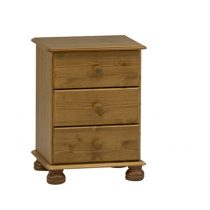 richmond antique pine bedside