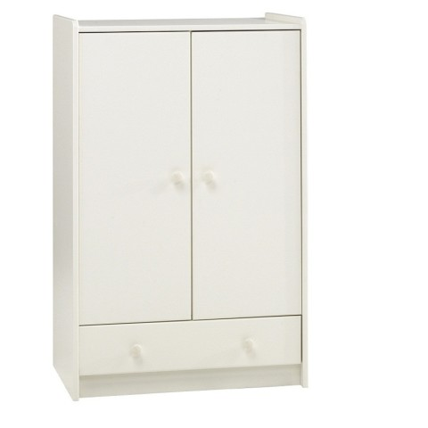 Children's White Wardrobe