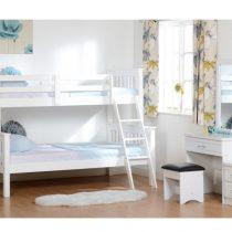Triple Sleeper Pine Bunk Bed