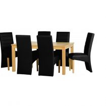 belmont black dining set