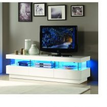 Barcelonea High Gloss LED TV Stand