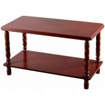 Brunton Wooden Coffee Table in Mahogany