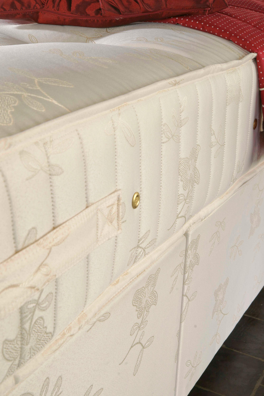 Furniturekraze Ltd Luxury Gold Pocket Sprung Extra Long Bed