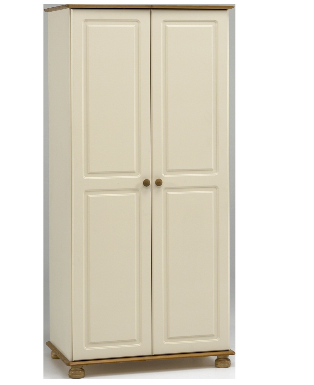 Furniturekraze Ltd Richmond Cream Amp Pine Wardrobe