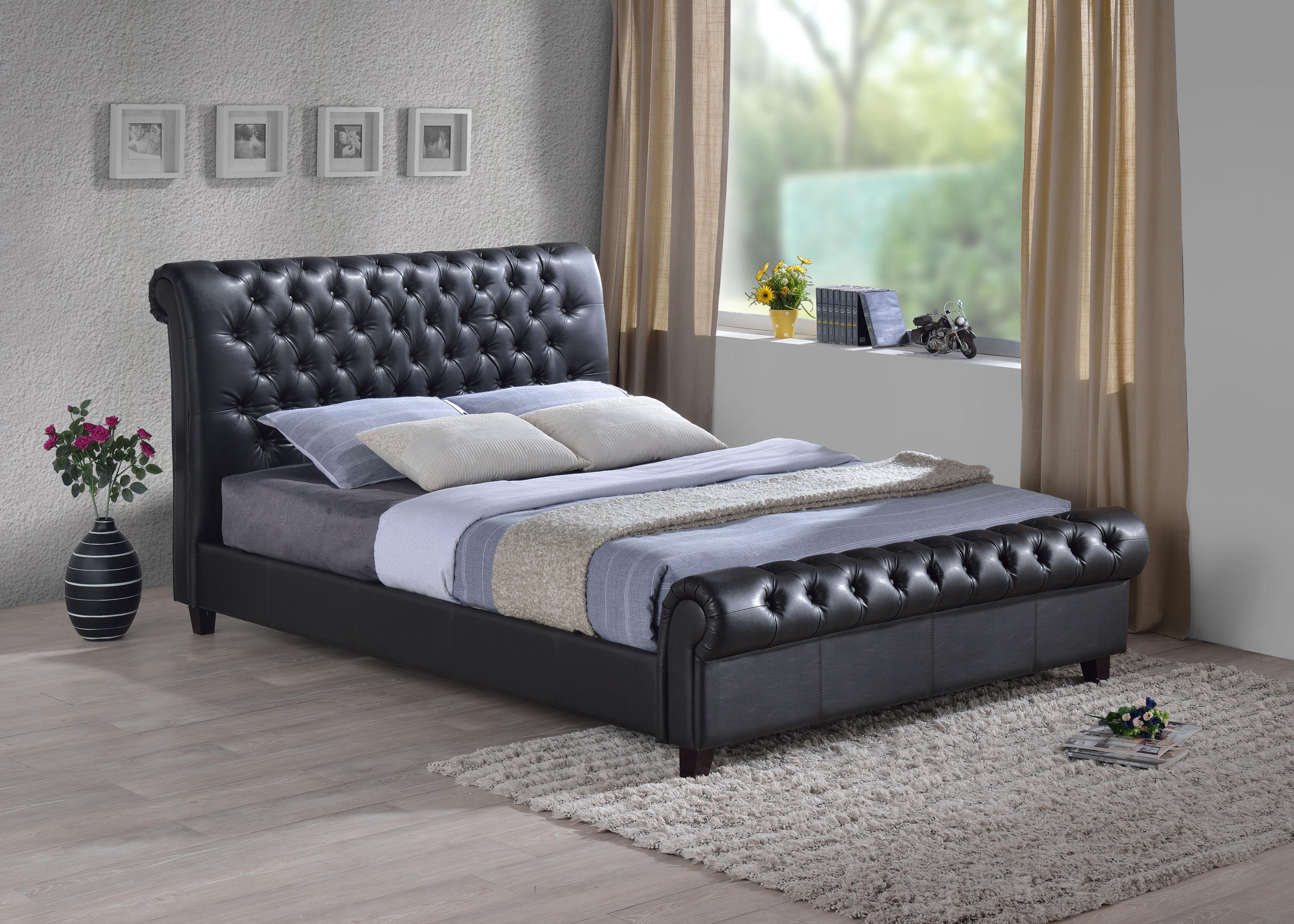 Furniturekraze Ltd Richmond Chesterfield Style Brown Bed