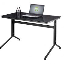 splice desk (dark grey leg)