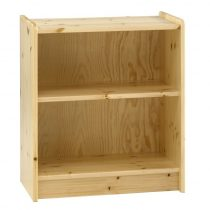 Low Pine Bookcase
