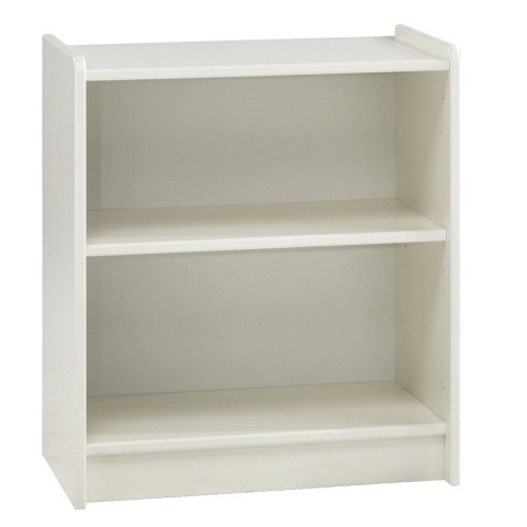 Low White Bookcase