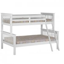 Triple Sleeper Pine Bunk Bed