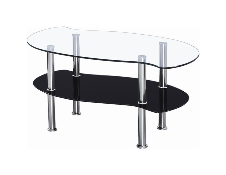 Colby Clear Glass Coffee Table