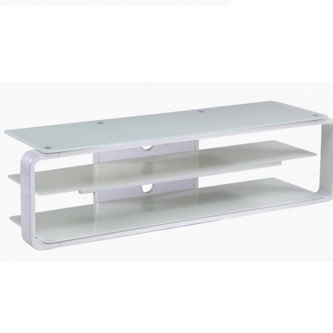 lithium white tv stand
