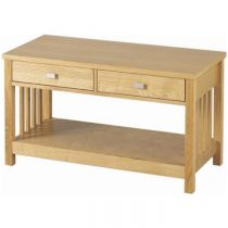 Ashmore 2 Drawer Coffee Table in Ash Veneer