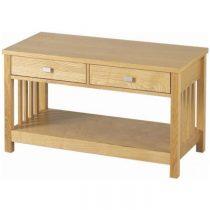 Ashmore 2 Drawer Coffee Table in Ash Veneer