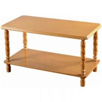 Brunton Wooden Coffee Table in Antique Pine