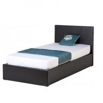 Waverley Ottoman Storage Bed in Faux Leather