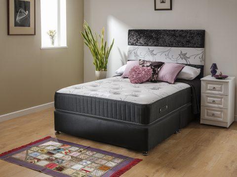 Chelsea Memory Foam Pocket Sprung Extra Long Bed