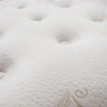 Cashmere Pure Wool Pocket Sprung Extra Long Mattress