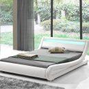 Leo Designer Curved LED Bed