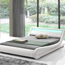 Leo LED Bed White