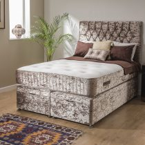 Cashmere Pure Wool Pocket Sprung Extra Long Bed
