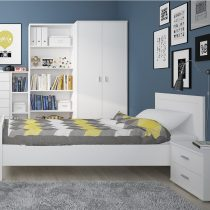 PEARL WHITE KIDS BED