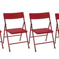 FOLDING CHAIR RED